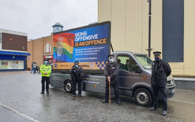 Wirral police offence