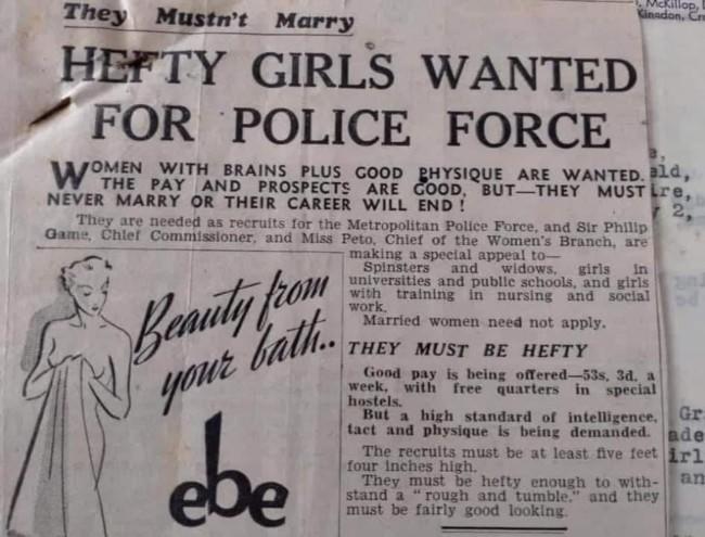 Hefty police met