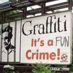 Graffiti On Billboards Is Funny