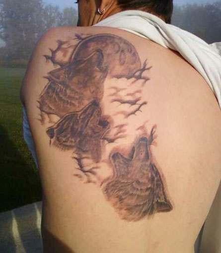 Hombre gilipollas Tatuaje